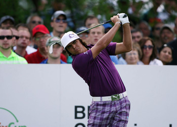 He's colorful, he's good, he's Rickie Fowler.