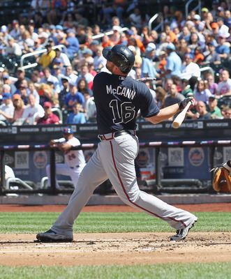 Brian McCann could fall down the rankings after a poor showing in the 2012 season.