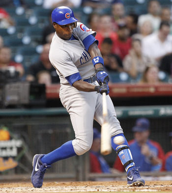 Alfonso Soriano hit 32 home runs in 2012.