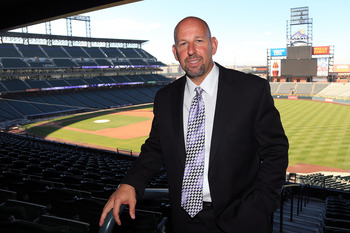 Rockies new manager Walt Weiss.