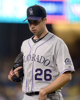 Rockies starting pitcher Jeff Francis.