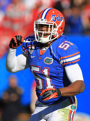 Michael Taylor is the next man up in a long line of great middle linebackers at Florida.
