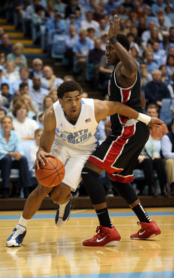 Sophomore James Michael McAdoo is a vital piece to North Carolina's scoring tilt.