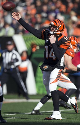 Andy Dalton lost to Houston in the 2011 playoffs.