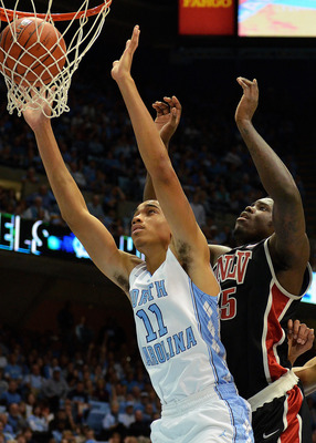 Brice Johnson has been effective, efficient and a reliable defender.