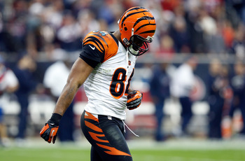 Jermaine Gresham struggled against the Texans and could not contribute to the passing game at all.