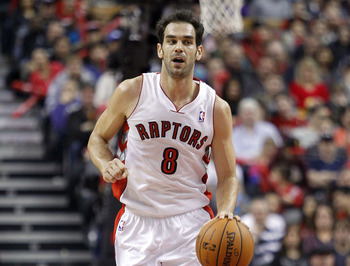Toronto Raptors' Jose Calderon