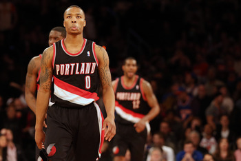 Portland Trail Blazers Damian Lillard