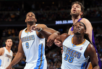 Denver Nuggets Kenneth Faried