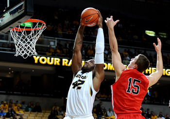 Mizzou center Alex Oriakhi has been a beast on the boards this season for the Tigers, a trait that translates well at the next level.