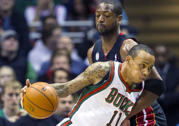Monta Ellis has been one of the few Bucks to struggle against the Heat this season.