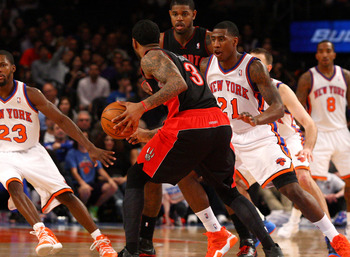 The Knicks defense should only improve after Iman Shumpert's return.