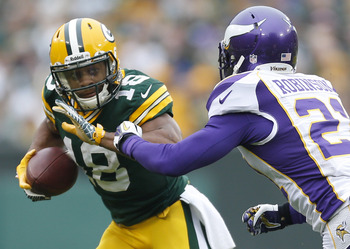 Randall Cobb could be key against the Vikings this week.