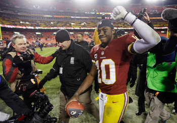 A lot will be on Robert Griffin III's this Sunday against the Seahawks.