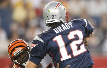 Brady would face a stiff test in the Bengals defense.