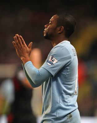 Robinho was praying for a Manchester City exit in 2010.