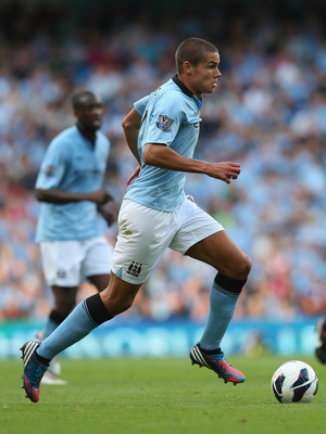 Jack Rodwell's time at Manchester City has been stalled by a hamstring injury.