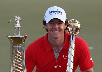 Rory McIlroy was the 2012 PGA Tour Player of the Year