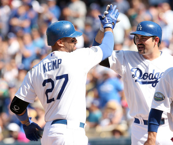Kemp and Gonzalez will lead one of the fiercest hitting lineups in 2013.