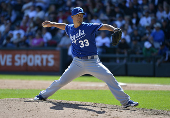 Guthrie will seek to replicate his 3.16 ERA in 14 starts for the Royals in 2013.