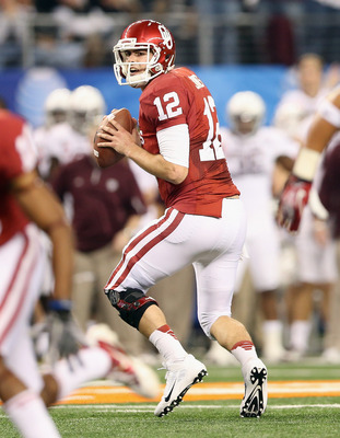 Landry Jones finished his Sooner career with an underwhelming performance against Texas A&M.