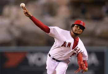 Kansas City is expecting Ervin Santana to bounce back.