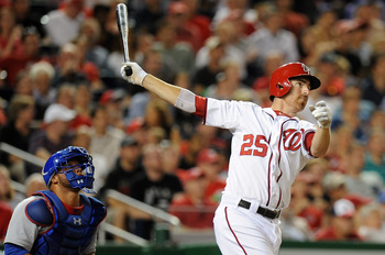 Washington has re-signed first baseman Adam LaRoche.