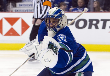 Poor Roberto Luongo can't seem to catch a break in Vancouver.