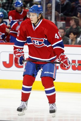 Nathan Beaulieu of the Montreal Canadiens.