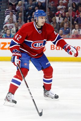 Jarred Tinordi of the Montreal Canadiens.