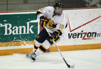 Conacher is one of the most decorated players in Canisius hockey history. Photo Courtesy: GoGriffs.com