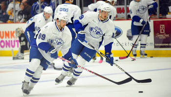 Conacher won the Rookie of the Year award last season in the AHL. Photo Courtesy: lightning.nhl.com