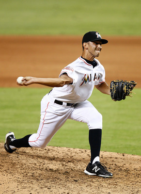 Steve Cishek is expected to anchor the Marlins bullpen in 2013.