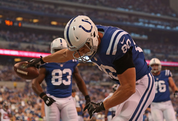 Coby Fleener and Dwayne Allen have both lived up to, if not passed, expectations for their rookie year.