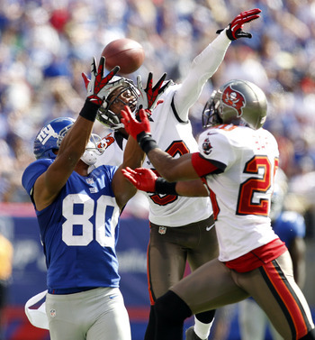 Victor Cruz often found himself double-teamed in 2012.