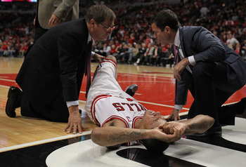 The worst sight of the season for Bulls fans in 2011-12.