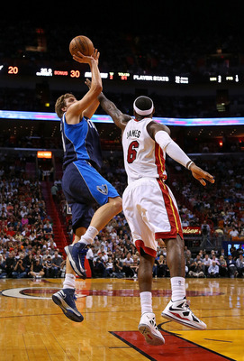 Dirk Nowitzki had his best game of the year so far against King James and the Heat.