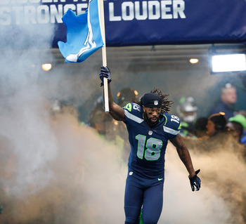 This is about all the involvement Sidney Rice had against St. Louis. He was targeted just once with no receptions. Seattle needs him to step up this weekend.