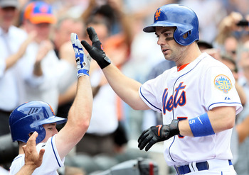 Mets third basemen David Wright.