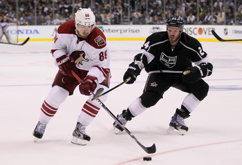 Big expectations are something the Phoenix Coyotes Mikkel Boedker will have to deal with this season after a solid 2012 NHL Playoff campaign.