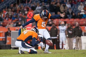 Matt Prater could play a large part in what could be a defensive battle.