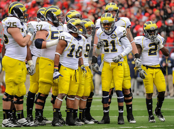 The Michigan Wolverines will struggle with a tough Big Ten schedule in 2013.