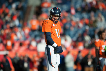 Peyton Manning and the Broncos are riding a massive wave of momentum.