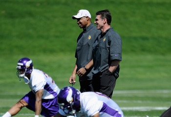 Rick Spielman and head coach Leslie Frazier improved the Vikings by seven games.