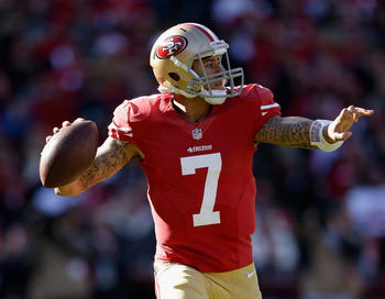 Kaepernick looks to lead 49ers past reigning NFL MVP