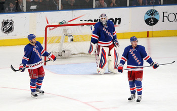 Girardi, Lundqvist and McDonagh