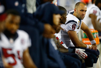 Will Schaub (8) and the Texans turn those frowns upside down this weekend?