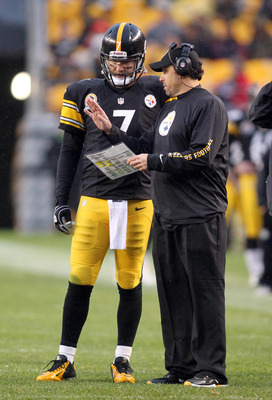 Roethlisberger and Haley must trust each other for the offense to maximize its potential.