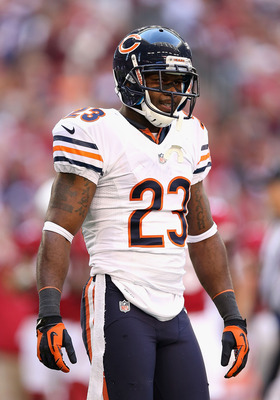 Devin Hester prior to the December 23rd matchup against Arizona