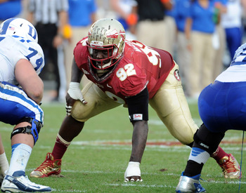 FSU DT Anthony McCloud.